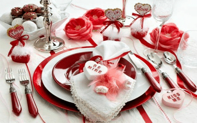 35 photos deco table st valentin